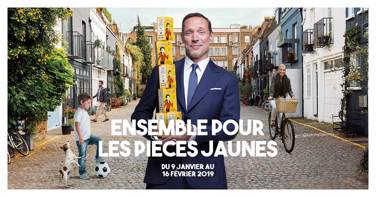 <p>opération pièces jaunes à Toulouse</p>
