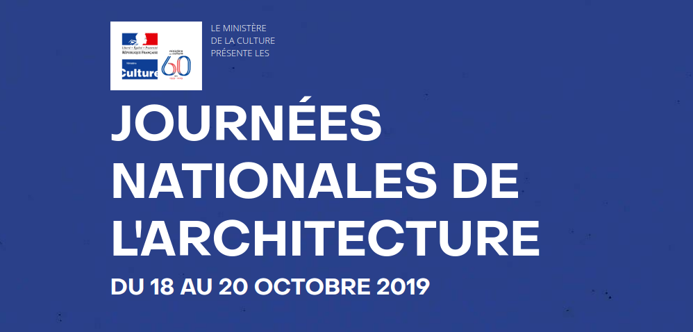 Les Journées nationales de l'architecture dans les environs d'Antony ? 18, 19 et 20 octobre 2019