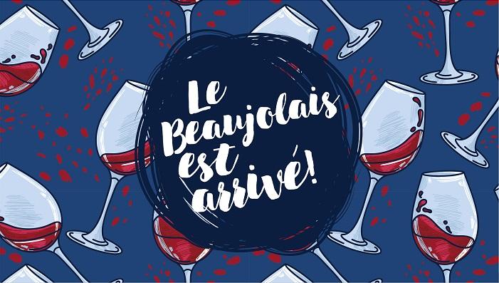Quelle est la date de sortie des Beaujolais nouveaux en 2019 à Saint-Cyr-l'École ?
